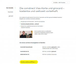 comdirect-visa