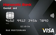 Hanseatic Bank GenialCard