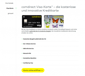 comdirect-visa-card