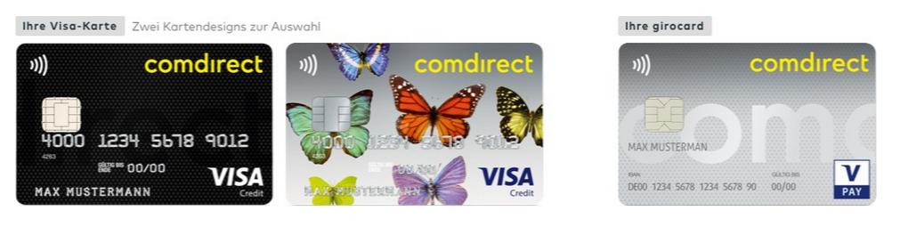 comdirect-visa-card